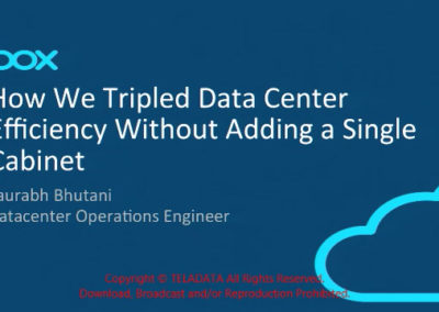 How Box Tripled Data Center Capacity Without Adding a Single Cabinet