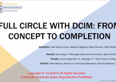 Full Circle with DCIM: From Concept to Completion