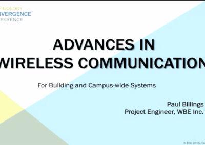 Advances in Wireless Communications