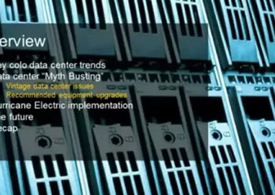 Case Study: Ensuring Energy Efficiency in Today's MTDC